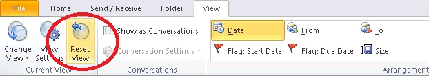sent items not appearing in Outlook 2010