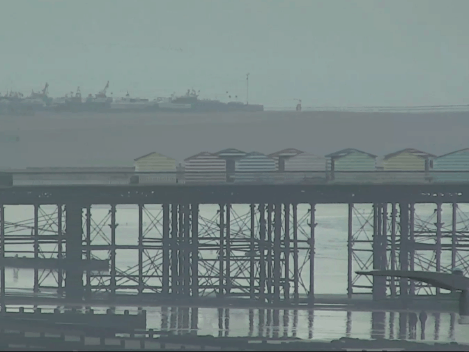 Hastings Pier Webcam from Beaming