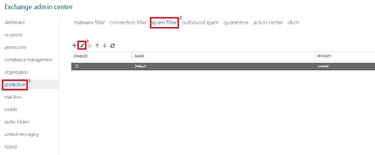 Stop inbound emails being marked as spam in Office 365 - Beaming