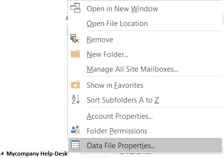 Use colour categoreis in Outlook 2016