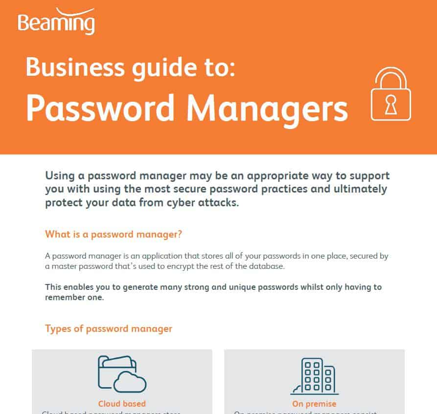 Password managers Guide