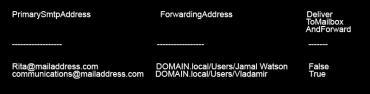 Powershell commands to view mailbox permissions 3