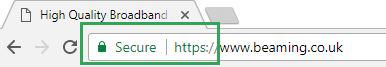HTTPS encryption