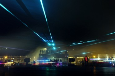 The benefits of event sponsorship: Chris Levine laser light show on Hastings Pier