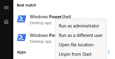 """Files cannot be loaded because running scripts is disabled on this system"". Run PowerShell"