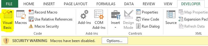 Remove digital signature from a macro - Visual Basic